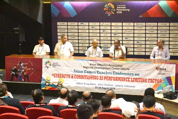 Asian Games Coaches Conference on Strength and Conditioning