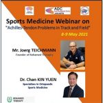 "Sports Medicine Webinar on ""Achilles-Tendon Problems in Track and Field"""
